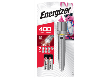 package of Energizer Vision HD 2AA Performance Metal Flashlight with 2 Batteries