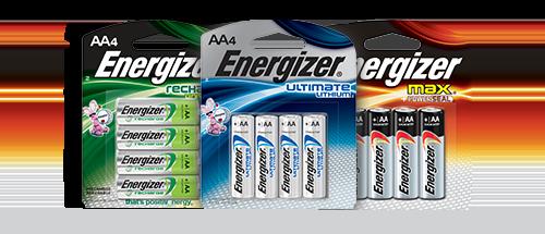AA Batteries   Energizer