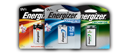 9v Batteries | Energizer