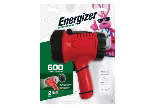Energizer Rechargeable Spotlight Package