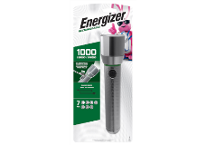 Package of Energizer Vision HD Rechargeable Metal Flashlight