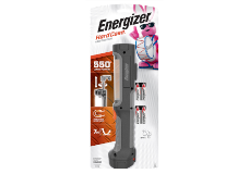 Package of Energizer Hard Case Professional Work Flashlight with 4 Batteries