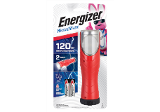 Package of Energizer Weatheready All In One Red Flashlight with 2 Batteries