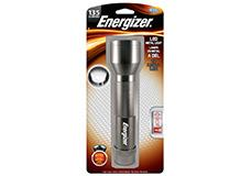 Package of Energizer 2D LED Metal Flashlight