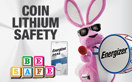 coin lithium safety