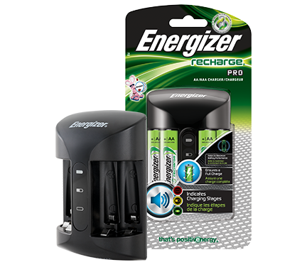 Energizer Recharge Pro Charger Combo