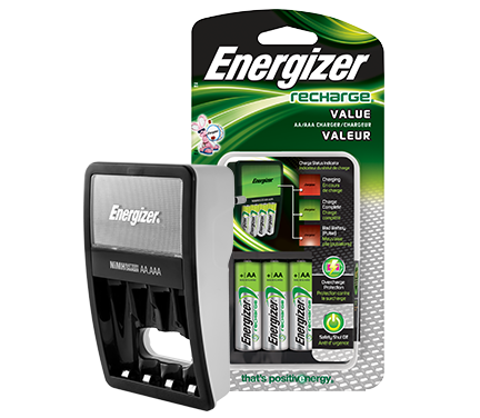 rechargeable battery charger energizer recharge value charger
