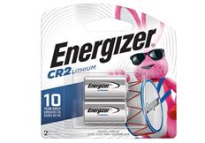 package of two energizer cr2 lithium battery