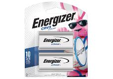package of two energizer crv3 lithium battery