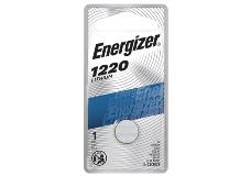 package of energizer cr1220 lithium battery