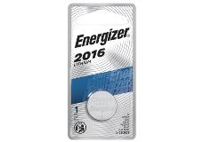 package of energizer cr2016 lithium battery