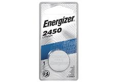package of energizer cr2450 lithium battery