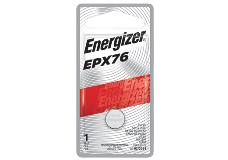 package of energizer EPX76 specialty battery