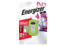 Package of Green Energizer Wearable Clip Light