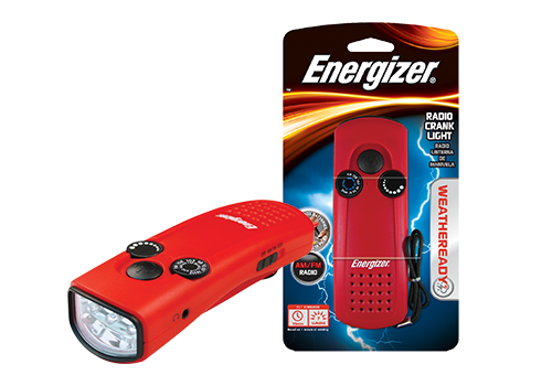 Energizer Radio Crank Light
