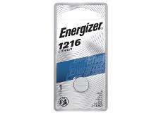 package of energizer cr1216 lithium battery