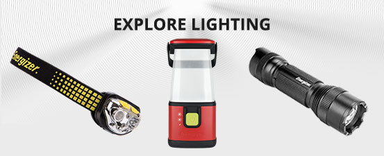 Energizer Batteries, Flashlights, Battery Chargers, Lighting on