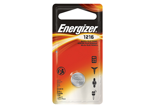 Energizer ECR1216BP Battery