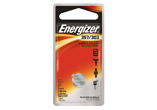 357 Battery 303 Battery Energizer