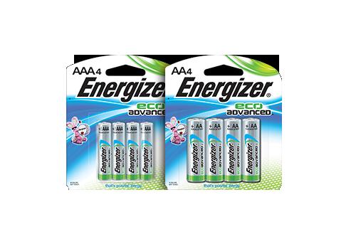 Energizer Eco Advanced Batteries