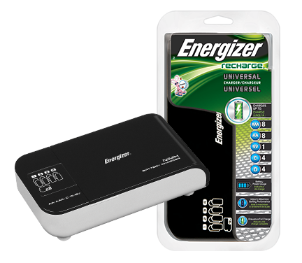Universal Battery Charger Energizer Recharge
