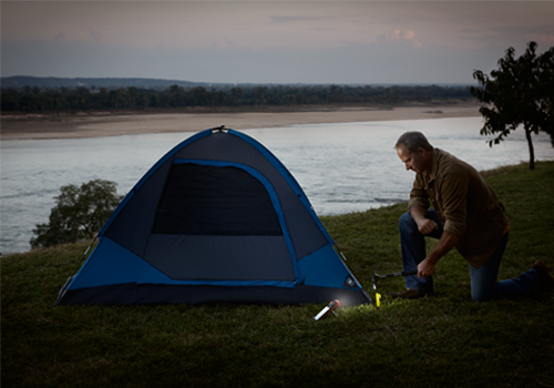 Energizer Standing Flashight Camping