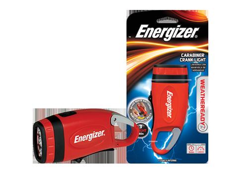 Energizer Carabiner Crank Light