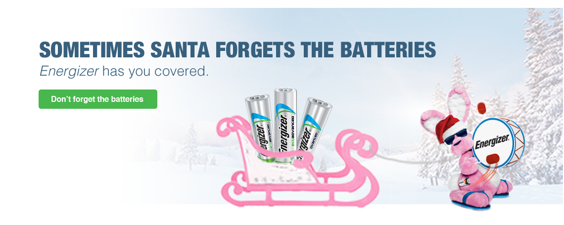 Energizer has you covered for the holidays