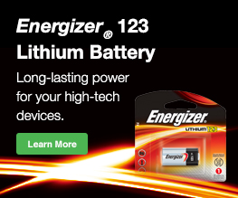 123 Lithium Photo Battery