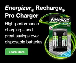 Energizer Recharge Pro Charger