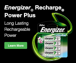 Energizer Recharge Power Plus Charger