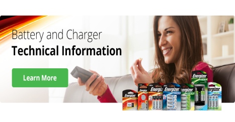 Energizer data info