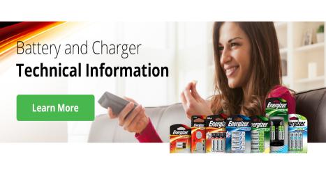 Energizer data info