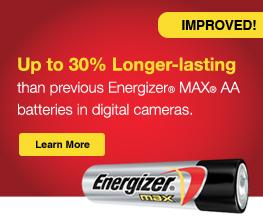 Energizer Max Longer Lasting