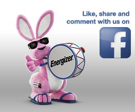 Energizer Bunny on Facebook